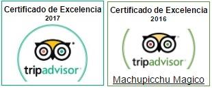 Certificado Excelencia Machu Picchu Magico