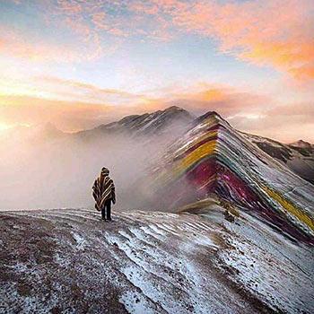 Vinincunca Montaña 7 colores