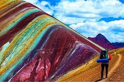 Vinincunca Montaña Siete colores