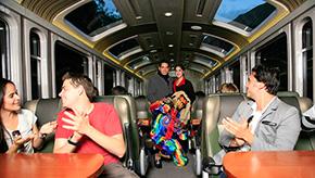 Tren Vistadome panoramico